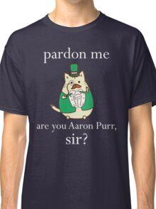 Hamilcat Art Design for Alexander Hamilton fans Vote For Hamilton Classic T-Shirt