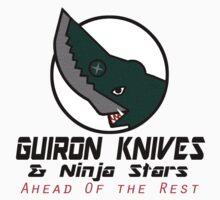 Guiron Knives & Ninja Stars One Piece - Long Sleeve