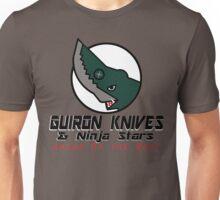 Guiron Knives & Ninja Stars Unisex T-Shirt