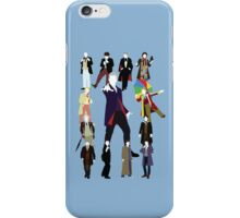 All Thirteen! (Version 2) - Doctor Who iPhone Case/Skin