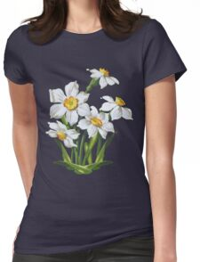 Narcis - daffodils Womens Fitted T-Shirt
