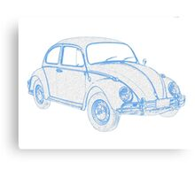 Peoples Car (VW) Bug II Canvas Print