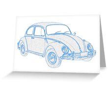 Peoples Car (VW) Bug II Greeting Card
