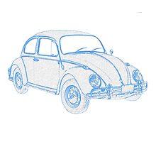 Peoples Car (VW) Bug II Photographic Print