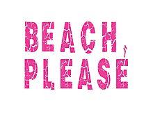 Beach, Please Photographic Print
