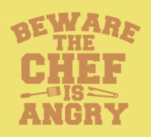 BEWARE the CHEF is ANGRY!  Kids Clothes