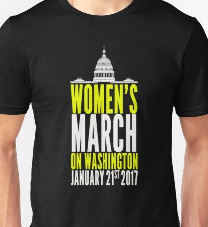 Women's March on Washington T-Shirt 2 Unisex T-Shirt