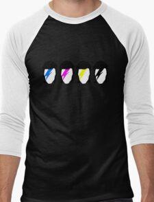 CMYK Stardust Men's Baseball ¾ T-Shirt