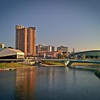 The Torrens River Footbridge by Clintpix