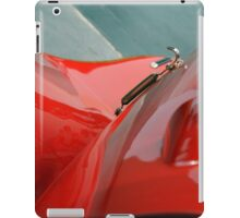 Detail of classic shining red car iPad Case/Skin