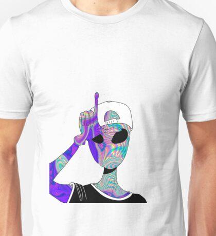 holographic alien Unisex T-Shirt