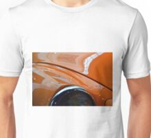 Detail of classic shining orange car hood Unisex T-Shirt