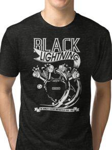 The Black Lightning Tri-blend T-Shirt