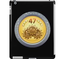 Glitch Achievement fancy medal fancier iPad Case/Skin