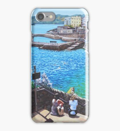 Coast Of Plymouth City Uk iPhone Case/Skin