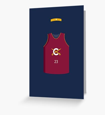 King James Greeting Card