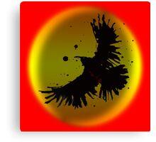Dark Crow Canvas Print
