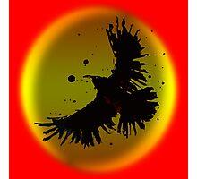 Dark Crow Photographic Print