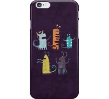 Secretly Vegetarian Monsters iPhone Case/Skin