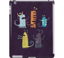 Secretly Vegetarian Monsters iPad Case/Skin