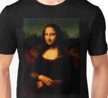 8 bit Mona Lisa painting  Unisex T-Shirt