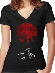 Berserk Women's Fitted V-Neck T-Shirt