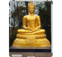Golden Buddha iPad Case/Skin