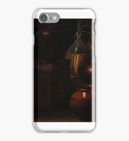 Rodolfo Simone, Da Lodi (17th Century) Still lifes, with jugs bottles and cooking equipment iPhone Case/Skin