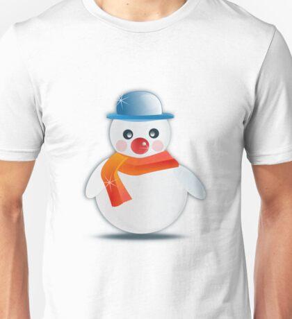 Celebration fancy glossy ice snow winter Unisex T-Shirt