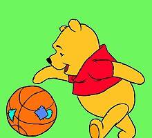 winnie the pooh by Megguii