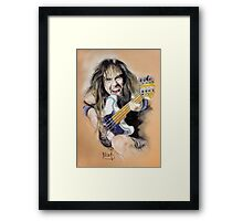 Steve Harris Framed Print