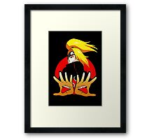Powerful mouth Framed Print