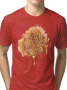 Waffley Good Tri-blend T-Shirt