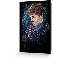 Joffrey Baratheon Greeting Card