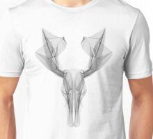 SKULL LINE ILLUSTRATION - DEER Unisex T-Shirt