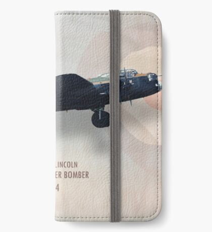 Avro Lancaster Bomber PA474 iPhone Wallet/Case/Skin