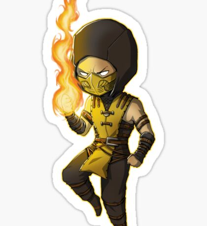 Mortal Kombat • Scorpion Sticker