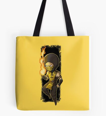 Mortal Kombat • Scorpion Tote Bag