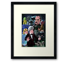3rd Dr Who And Friends Framed Print