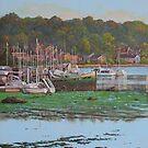 Bitterne Boats Southampton by martyee