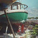 Boat Yard Boat 01 by martyee