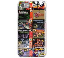 N64 Game Covers Phone Case iPhone Case/Skin