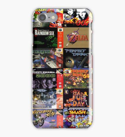 N64 Game Covers Phone Case iPhone Case/Skin
