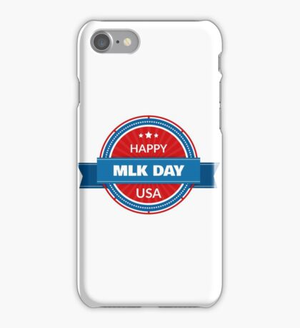 Patriota Badge - Martin Luther King Day iPhone Case/Skin