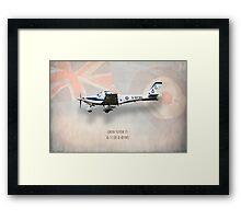 Grob Tutor T1 G-115E Framed Print