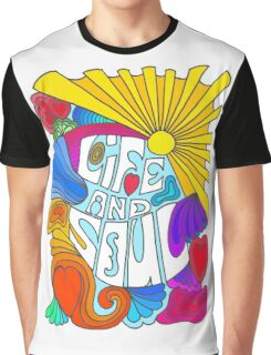 Life And Soul Sixties Inspired  Graphic T-Shirt