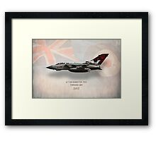 Dambusters Tornado GR4 ZA412 Framed Print