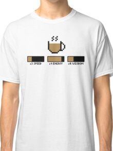 Coffee stats Classic T-Shirt