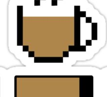Coffee stats Sticker