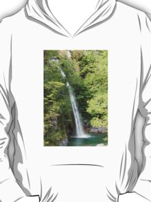 stream and waterfall  in the forest T-Shirt
